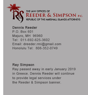 The Law Offices of Reeder & Simpson, P.C.